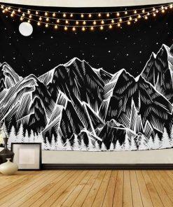 Berg Wandteppich